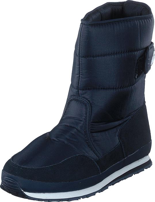 Rubber Duck Rd Nylon Suede Solid Navy, Kengät, Bootsit, Lämminvuoriset kengät, Sininen, Naiset, 38