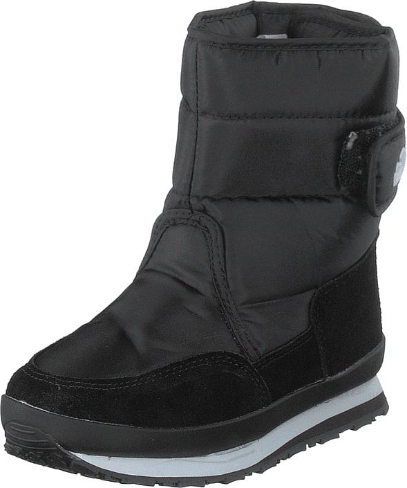 Rubber Duck Rd Nylon Suede Solid Kids Black, Kengät, Bootsit, Lämminvuoriset kengät, Musta, Unisex, 23