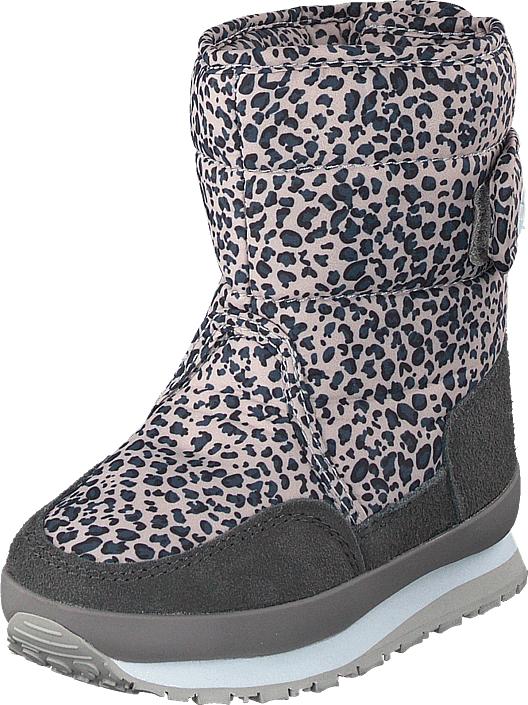 Rubber Duck Rd Print Kids Grey Leo, Kengät, Bootsit, Lämminvuoriset kengät, Harmaa, Unisex, 28
