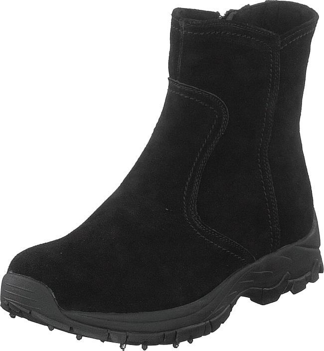 Eskimo Sirdal Spike Dubb Black, Kengät, Bootsit, Korkeavartiset bootsit, Musta, Naiset, 38