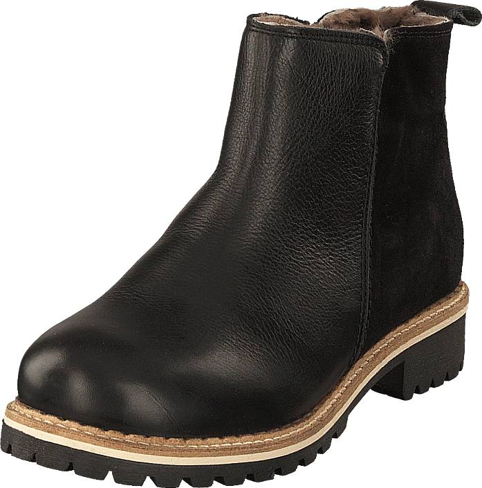 Shepherd Ellinor Black, Kengät, Bootsit, Chelsea boots, Ruskea, Musta, Naiset, 40
