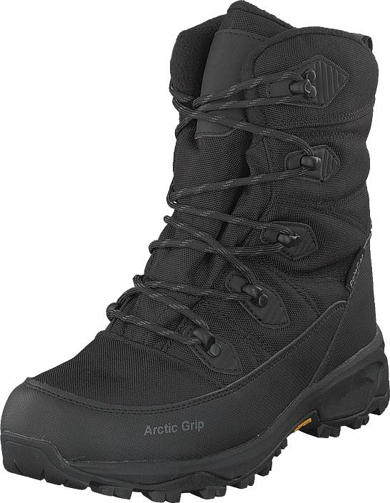 Polecat 430-8921 Vibram Arctic Grip Black, Kengät, Bootsit, Vaelluskengät, Musta, Unisex, 40