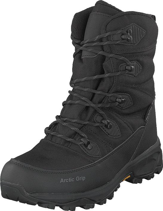 Polecat 430-8921 Vibram Arctic Grip Black, Kengät, Bootsit, Vaelluskengät, Musta, Unisex, 36