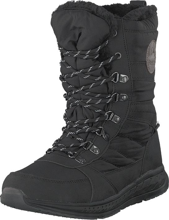 Polecat 430-9473 Waterproof Warm Lined Black, Kengät, Bootsit, Lämminvuoriset kengät, Harmaa, Naiset, 36