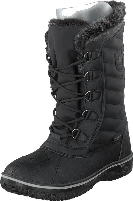 Polecat 430-2926 Waterproof Warm Lined Black, Kengät, Bootsit, Lämminvuoriset kengät, Musta, Naiset, 37