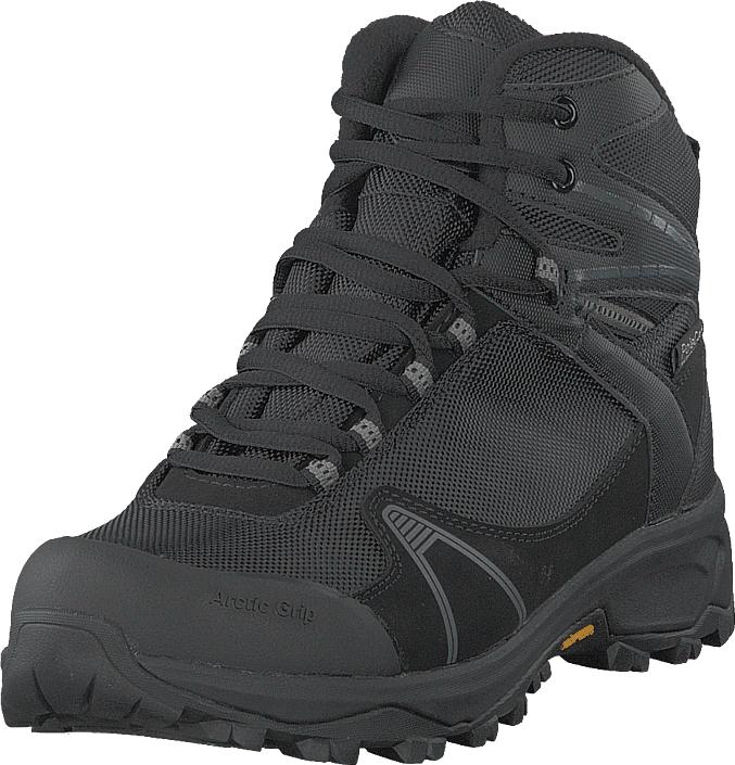 Polecat 430-2384 Vibram Arctic Grip Black, Kengät, Bootsit, Vaelluskengät, Harmaa, Unisex, 44