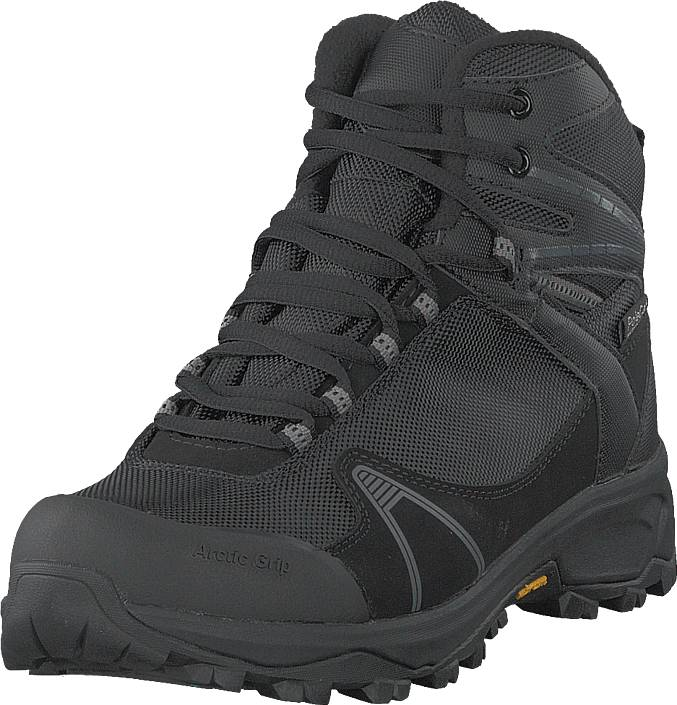 Polecat 430-2384 Vibram Arctic Grip Black, Kengät, Bootsit, Vaelluskengät, Harmaa, Unisex, 36