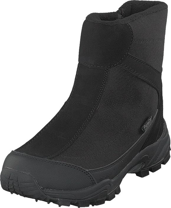 Polecat 430-1031 Waterproof Warm Lined Black Ice-tech Studs, Kengät, Bootsit, Vaelluskengät, Musta, Unisex, 36