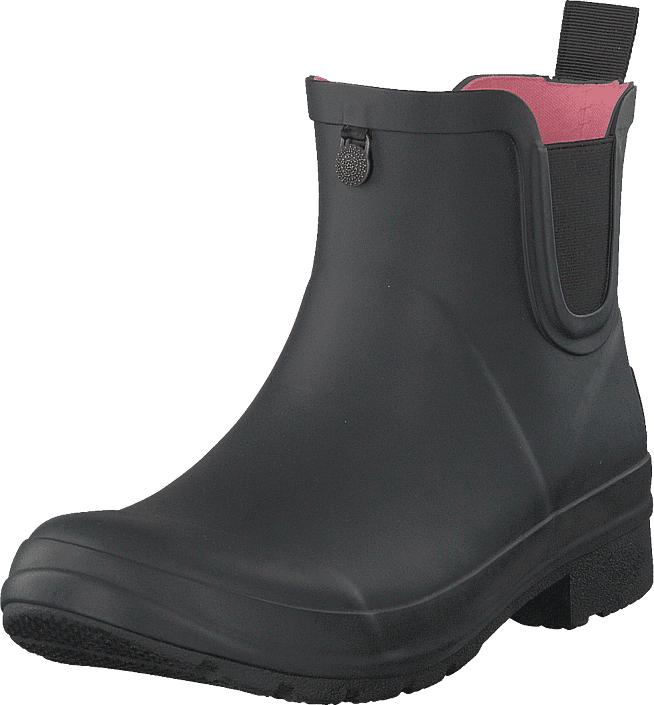 Odd Molly Droplet Rainboot Almost Black, Kengät, Bootsit, Chelsea boots, Harmaa, Naiset, 36