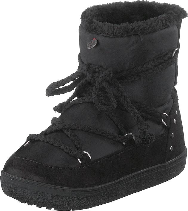 Odd Molly Soft Artic Low Boot Almost Black, Kengät, Bootsit, Lämminvuoriset kengät, Musta, Naiset, 36