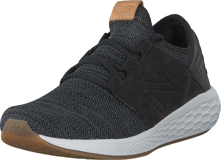 Image of New Balance Wcruzkb2 Black/white, Kengät, Sneakerit ja urheilukengät, Sneakerit, Musta, Naiset, 36