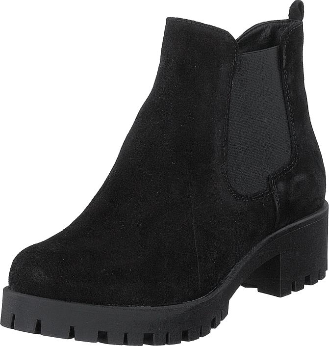 Tamaris 25435-007 Black, Kengät, Bootsit, Chelsea boots, Musta, Naiset, 36