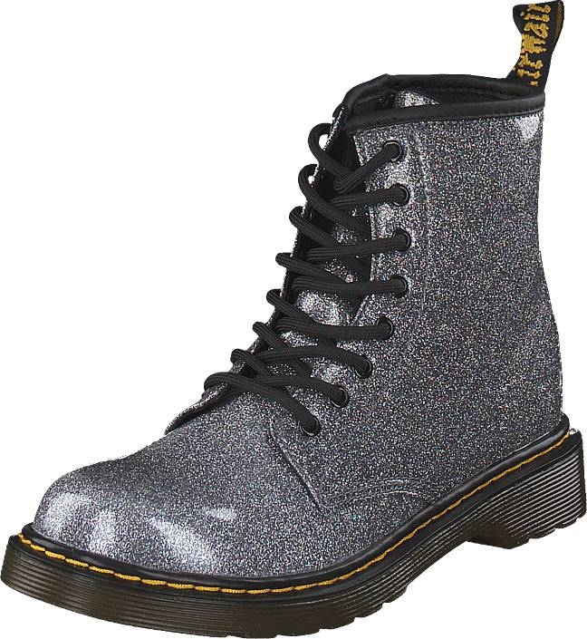 Dr Martens 1460 Glitter J Gunmetal, Kengät, Bootsit, Kengät, Violetti, Unisex, 30