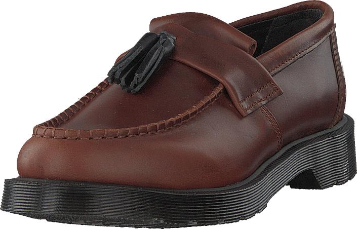 Dr Martens Adrian Cognac, Kengät, Matalapohjaiset kengät, Juhlakengät, Ruskea, Unisex, 36
