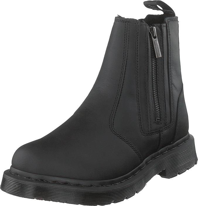 Dr Martens 2976 Alyson W/zips Black, Kengät, Bootsit, Chelsea boots, Musta, Naiset, 39