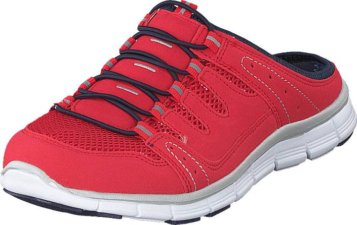 Polecat 435-1309 Comfort Sock Red, Kengät, Sneakerit ja urheilukengät, Urheilukengät, Sininen, Punainen, Naiset, 40