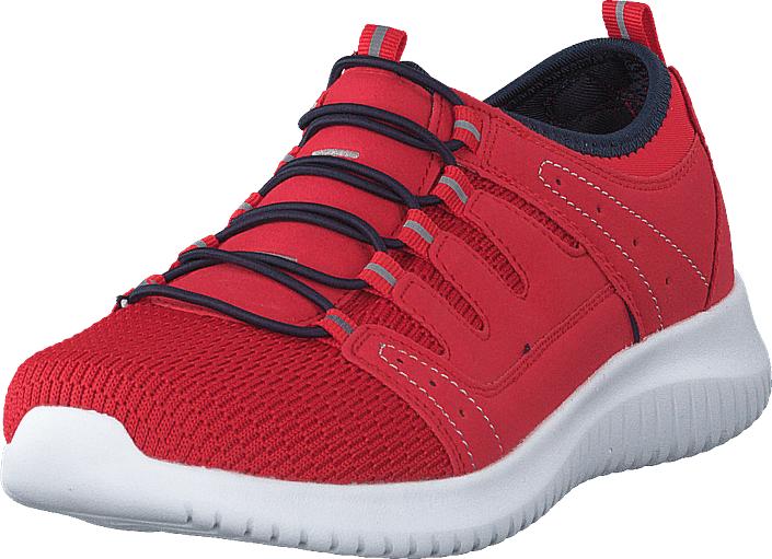 Polecat 435-0106 Red, Kengät, Sneakerit ja urheilukengät, Urheilukengät, Punainen, Naiset, 36