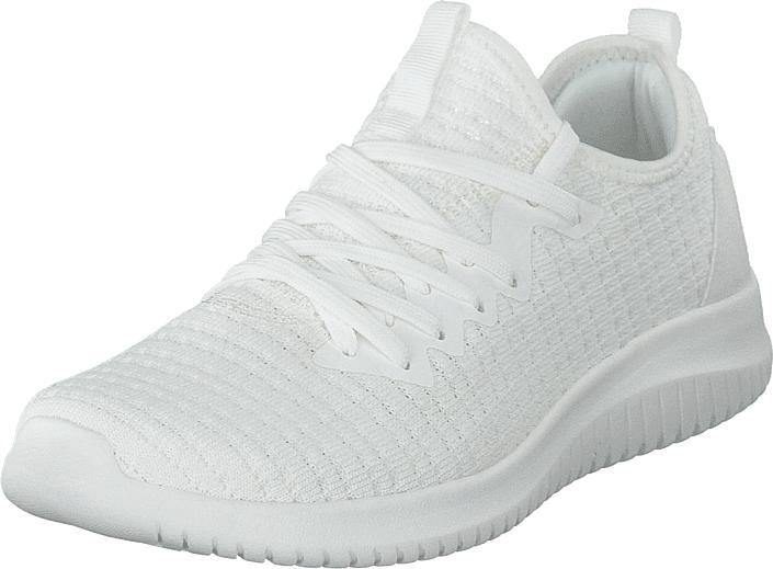 Polecat 435-0125 White, Kengät, Sneakerit ja urheilukengät, Sneakerit, Valkoinen, Naiset, 41