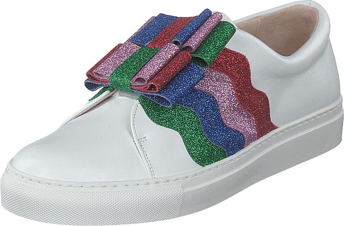 Image of Minna Parikka Arco Multiglitter, Kengät, Matalapohjaiset kengät, Slip on, Violetti, Sininen, Naiset, 37