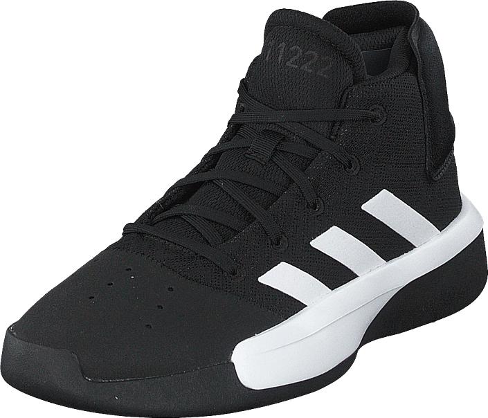 Adidas Sport Performance Pro Adversary 2019 K Cblack/ftwwht/grefou, Kengät, Sneakerit ja urheilukengät, Korkeavartiset tennarit, Musta, Unisex, 39