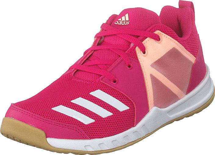 Adidas Sport Performance Fortagym K Reamag/ftwwht/cleora, Kengät, Sneakerit ja urheilukengät, Urheilukengät, Vaaleanpunainen, Unisex, 37