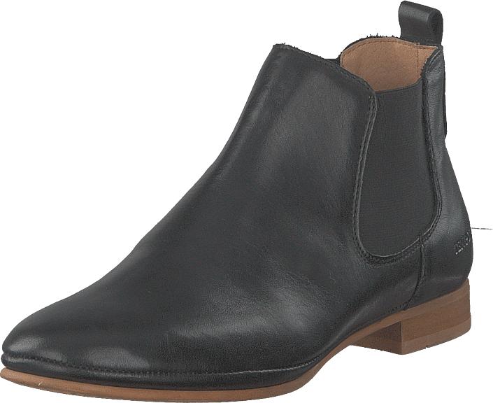 Image of Ten Points New Toulouse Black, Kengät, Bootsit, Chelsea boots, Harmaa, Musta, Naiset, 36