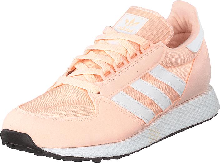 Adidas Originals Forest Grove J Cleora/ftwwht/cleora, Kengät, Sneakerit ja urheilukengät, Sneakerit, Valkoinen, Unisex, 37