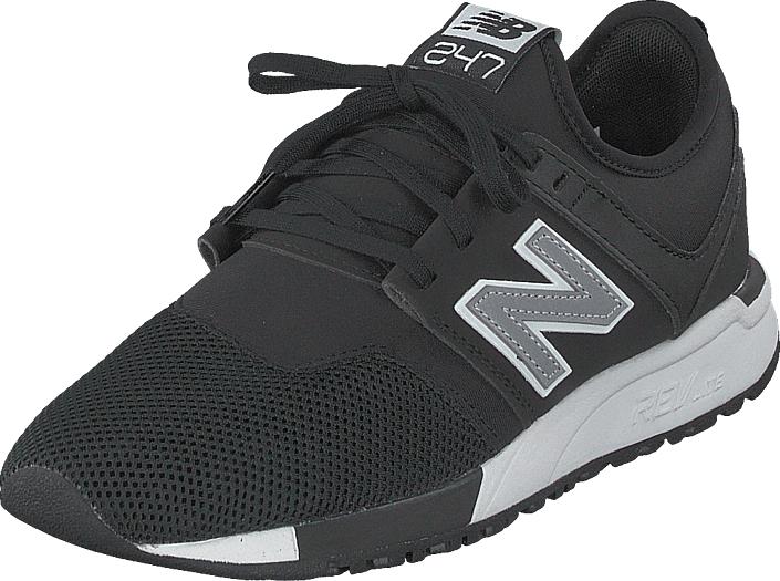 Image of New Balance Mrl247oc Black/silver, Kengät, Sneakerit ja urheilukengät, Sneakerit, Harmaa, Musta, Unisex, 38