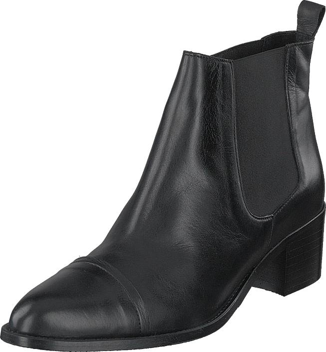 Image of Bianco Biacarol Dress Chelsea Black, Kengät, Saappaat ja saapikkaat, Nilkkurit, Musta, Harmaa, Naiset, 36