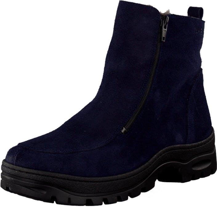 Ilves 756386 Navy, Kengät, Bootsit, Lämminvuoriset kengät, Sininen, Naiset, 37