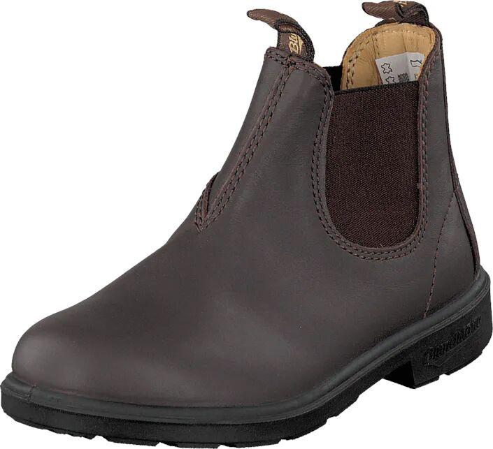 Blundstone 530 Leather Brown, Kengät, Bootsit, Chelsea boots, Harmaa, Lapset, 33