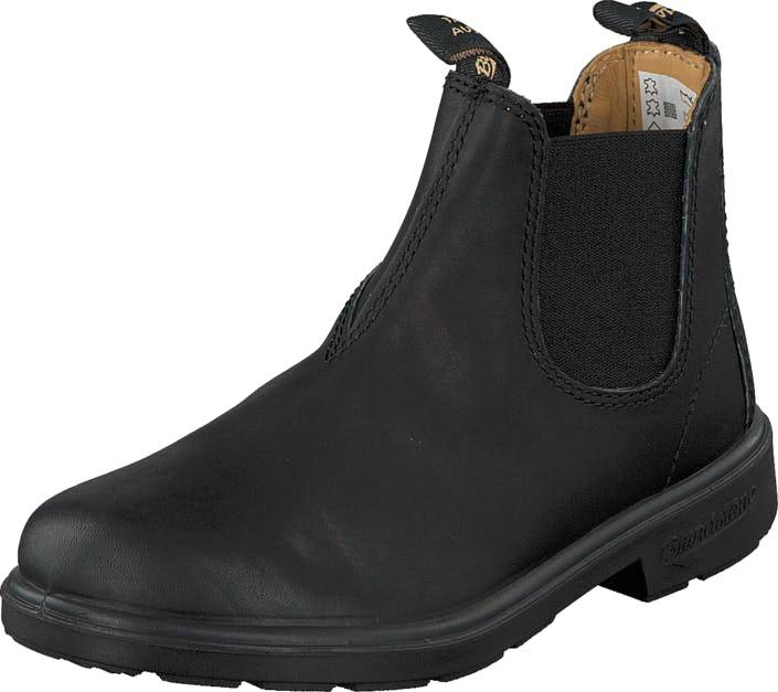 Blundstone 531 Leather Black, Kengät, Bootsit, Chelsea boots, Musta, Lapset, 33