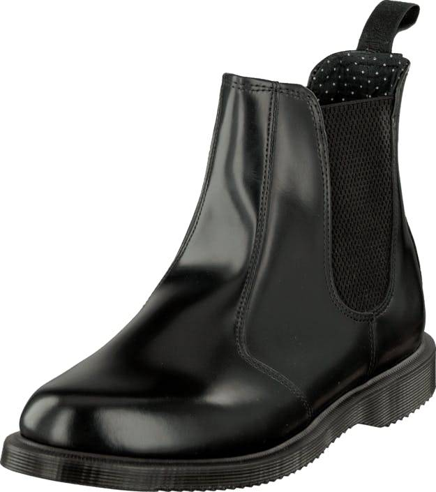 Image of Dr Martens Flora Chelsea Black, Kengät, Bootsit, Chelsea boots, Musta, Naiset, 39