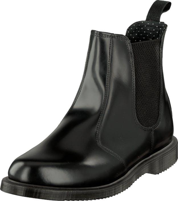 Image of Dr Martens Flora Chelsea Black, Kengät, Bootsit, Chelsea boots, Musta, Naiset, 42