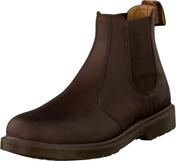 Image of Dr Martens 2976 GAUCHO, Kengät, Bootsit, Chelsea boots, Ruskea, Unisex, 37