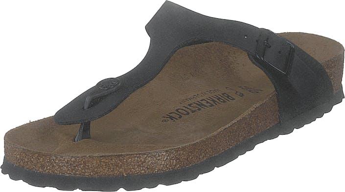 Birkenstock Gizeh Regular Black, Kengät, Sandaalit ja Tohvelit, Flip Flopit, Musta, Unisex, 40