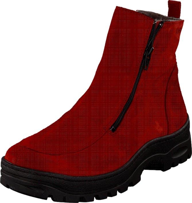 Ilves 756386 RED, Kengät, Bootsit, Kengät, Punainen, Naiset, 37