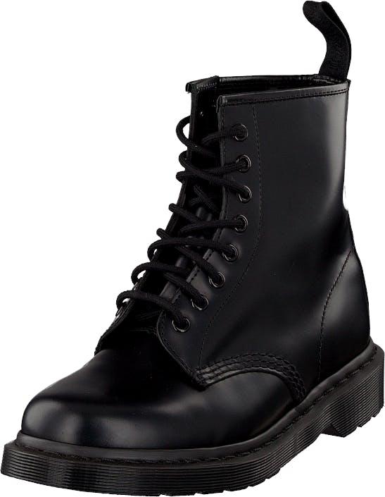 Dr Martens 1460 8-eye boot Mono Smooth Black, Kengät, Bootsit, Kengät, Musta, Unisex, 44