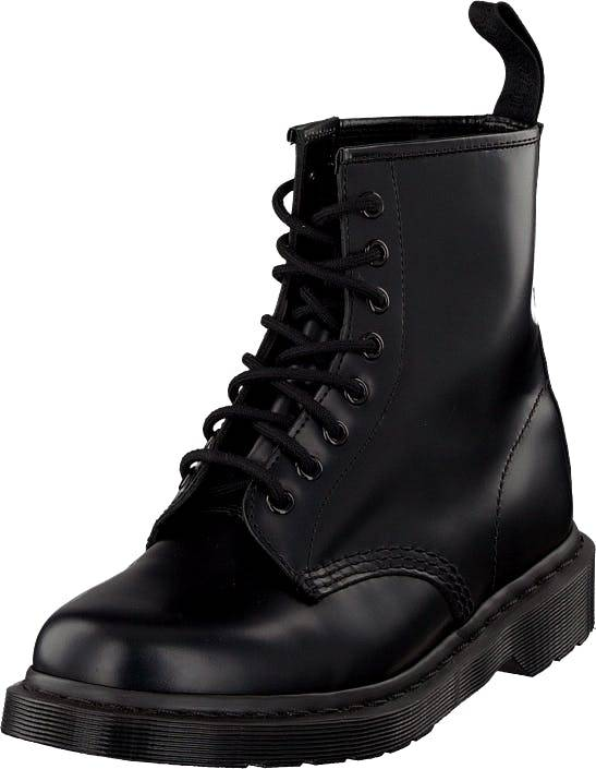 Dr Martens 1460 8-eye boot Mono Smooth Black, Kengät, Bootsit, Kengät, Musta, Unisex, 45