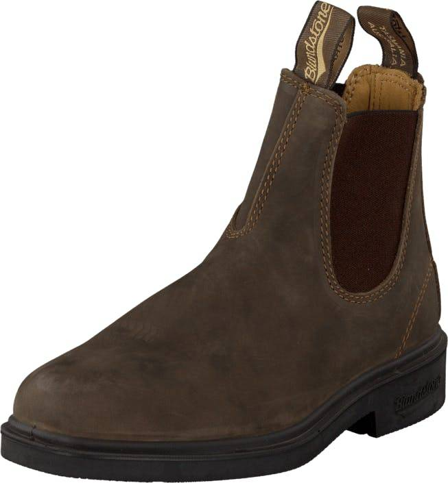 Blundstone 1306 Dress Boot Rustic Brown, Kengät, Bootsit, Chelsea boots, Ruskea, Unisex, 35