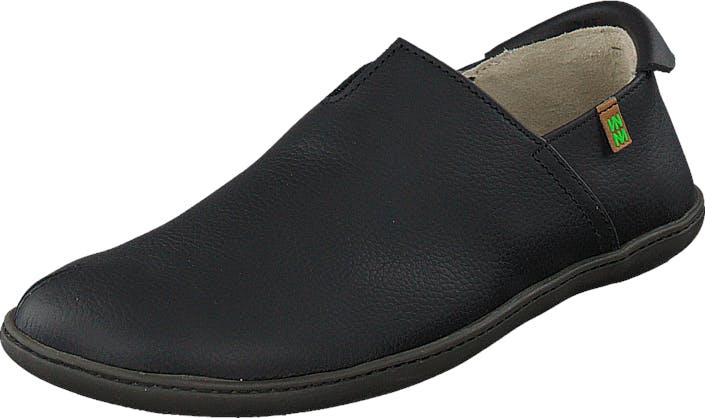 Image of El Naturalista El Viajero N275 Black, Kengät, Matalapohjaiset kengät, Slip on, Musta, Unisex, 37