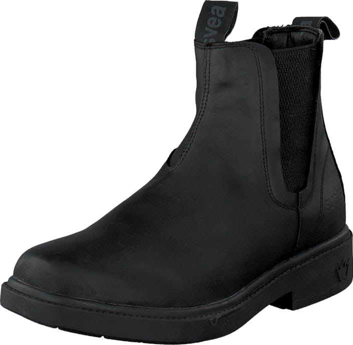 Svea Tranås 2 Black, Kengät, Bootsit, Chelsea boots, Musta, Naiset, 36