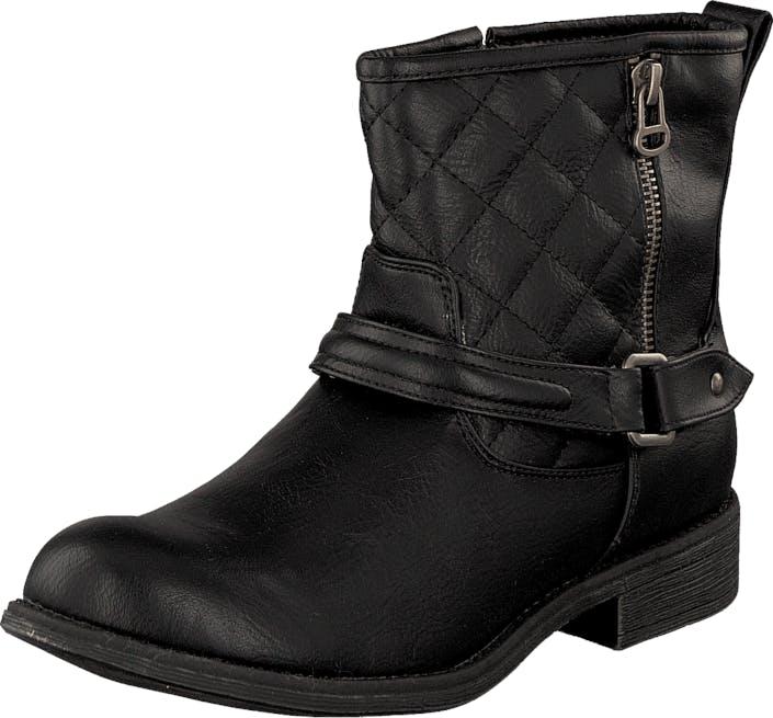 Wildflower Charlotta Black, Kengät, Bootsit, Korkeavartiset bootsit, Musta, Lapset, 28