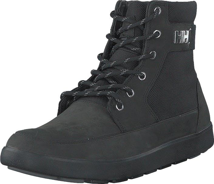 Image of Helly Hansen Stockholm Black/Black/Mid grey 991, Kengät, Bootsit, Kengät, Harmaa, Musta, Miehet, 43