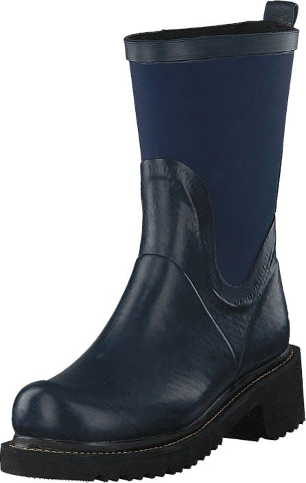 Ilse Jacobsen Rub68 Indigo, Kengät, Bootsit, Lämminvuoriset kengät, Sininen, Naiset, 35
