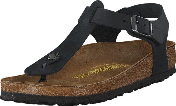 Birkenstock Kairo Regular Oiled Leather Black, Kengät, Sandaalit ja Tohvelit, Remmisandaalit, Musta, Naiset, 40