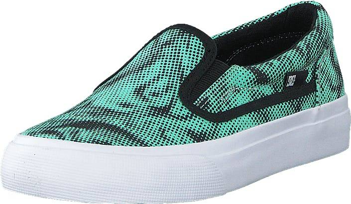 DCShoe Shoes Dc Kids Trase Slip-On Shoe Black/Blue, Kengät, Matalat kengät, Slip on, Sininen, Lapset, 29