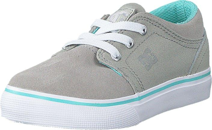 DCShoe Shoes Dc Tod Trase Slip T Shoe Navy/Grey, Kengät, Matalat kengät, Kangaskengät, Harmaa, Lapset, 20
