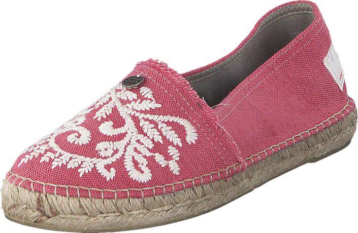 Image of Odd Molly Oddspadrillos Embroidered Misty Pink, Kengät, Matalapohjaiset kengät, Slip on, Ruskea, Vaaleanpunainen, Naiset, 36