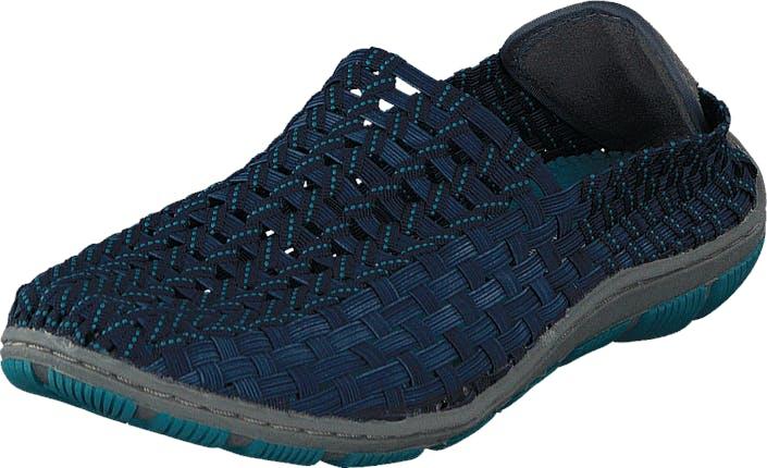 Rock Spring Cape Horn 3080-W Navy/Petrol, Kengät, Matalapohjaiset kengät, Slip on, Sininen, Naiset, 39